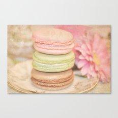 les Macarons... Canvas Print