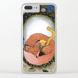 The little prince - Red Version Clear iPhone Case