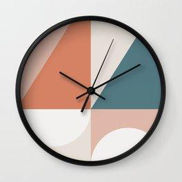 Cirque 02 Abstract Geometric Wall Clock