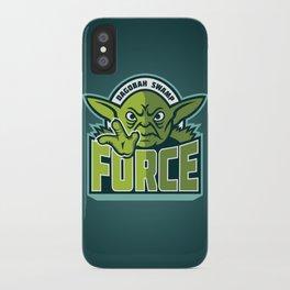 Dagobah Swamp Force - Teal iPhone Case