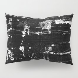 Distressed Grunge 102 in B&W Pillow Sham