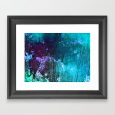 Blue Stems Framed Art Print