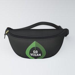 Go Vegan Green Avocado Fanny Pack