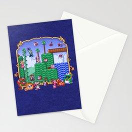 Mario Super Bros, Too Stationery Cards