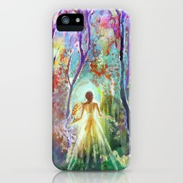 Dance of the Changing Leaves iPhone Case