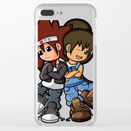 Uncle and Niece 2015 Clear iPhone Case
