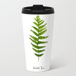 Ostrich fern Travel Mug