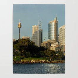 Mrs Macquarie's Chair, Sydney Poster