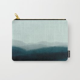 morning mist scenery Carry-All Pouch