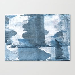Gray-blue abstract Canvas Print