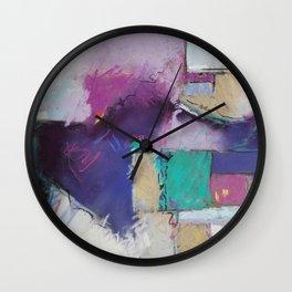 Block 4 Wall Clock
