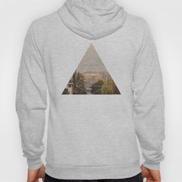 Hollywood Sign - Geometric Photography Hoody