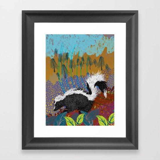dawn and dusk Framed Art Print