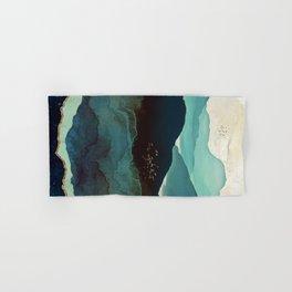 Indigo Mountains Hand & Bath Towel