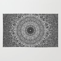islam Area & Throw Rugs featuring Ash Mandala by Mantra Mandala