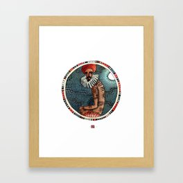 Tribes of our lives Framed Art Print