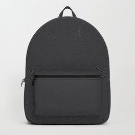 Black & Grey Simulated Carbon Fiber Backpack