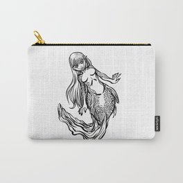 Goldfish Mermaid Carry-All Pouch