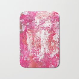 Roses Play Color On Ice Bath Mat