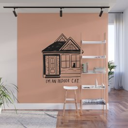 Indoor Cat (house) Wall Mural