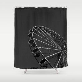 Funfair I Shower Curtain