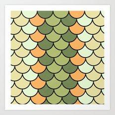 Citrus Tones Art Print