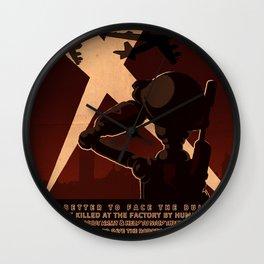 Propaganda Series 7 Wall Clock