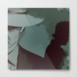 Raylan and Boyd 2 Metal Print