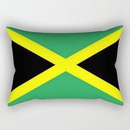 Jamaica Flag Rectangular Pillow