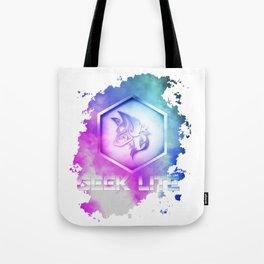 Geek Lite 3 Year Anniversary - Rainbow Style Tote Bag