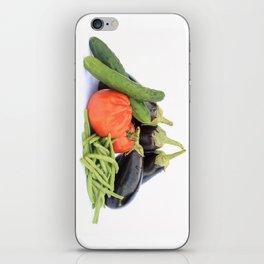 Vegetables together iPhone Skin