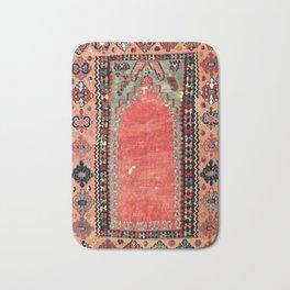 Sivas  Antique Cappadocian Turkish Niche Kilim Print Bath Mat