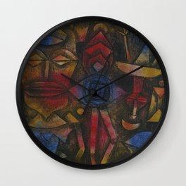Figurines Wall Clock