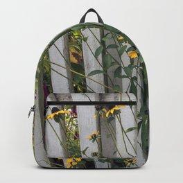 Fenced In Black Eyed Susans Backpack