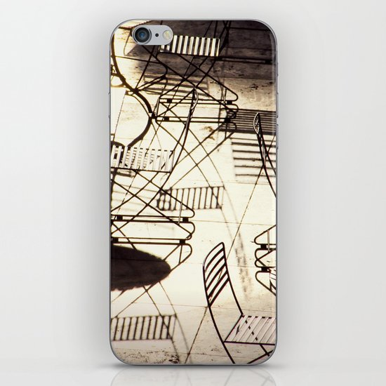 empty cafe iPhone & iPod Skin