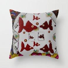 Poker Art In fantasy Style Throw Pillow