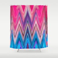 aztec Shower Curtains featuring AZTEC by Acus