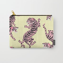 Pink Tigers Carry-All Pouch