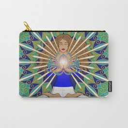 Divine Spark Mandala Carry-All Pouch