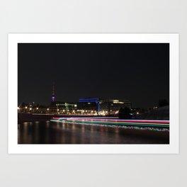 A night of lights... Art Print