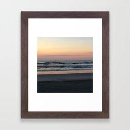 Jersey Shore Sunrise Framed Art Print