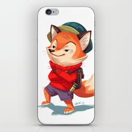 Flynn the Fox iPhone Skin