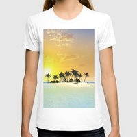 island T-shirts featuring Island by nicky2342
