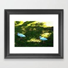 Hanging Together Framed Art Print