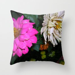 Face Away Throw Pillow