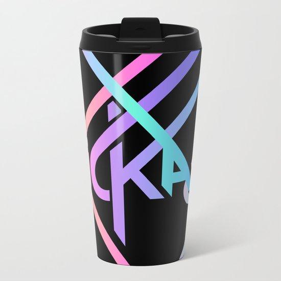 KICKASS Metal Travel Mug