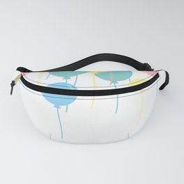 Colorful Balloons Fanny Pack