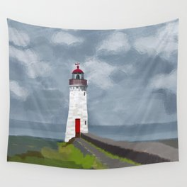 The lighthouse Wall Tapestry