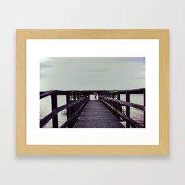Lost At Sea II Framed Art Print