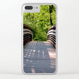 Over the River Clear iPhone Case